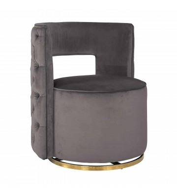 Swivel armchair Jamie Stone...