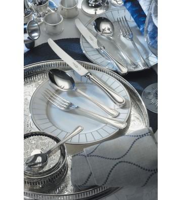 Set 44 tacamuri inox argintate, Brittania