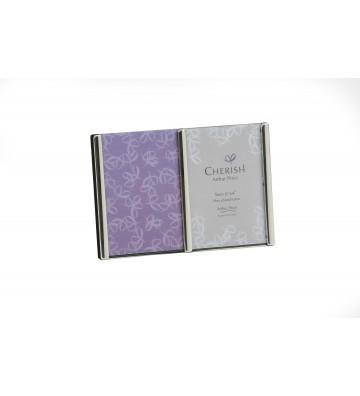 Rama foto argintata Dubla, Oxford - Arthur Price