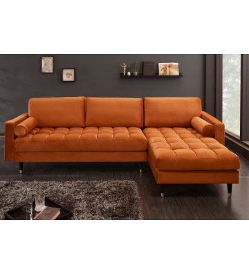 Canapea de colț Cozy Velvet...