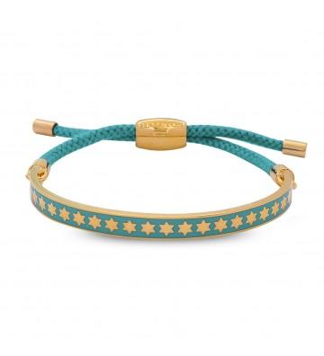 Bratara Star Turq & Gold
