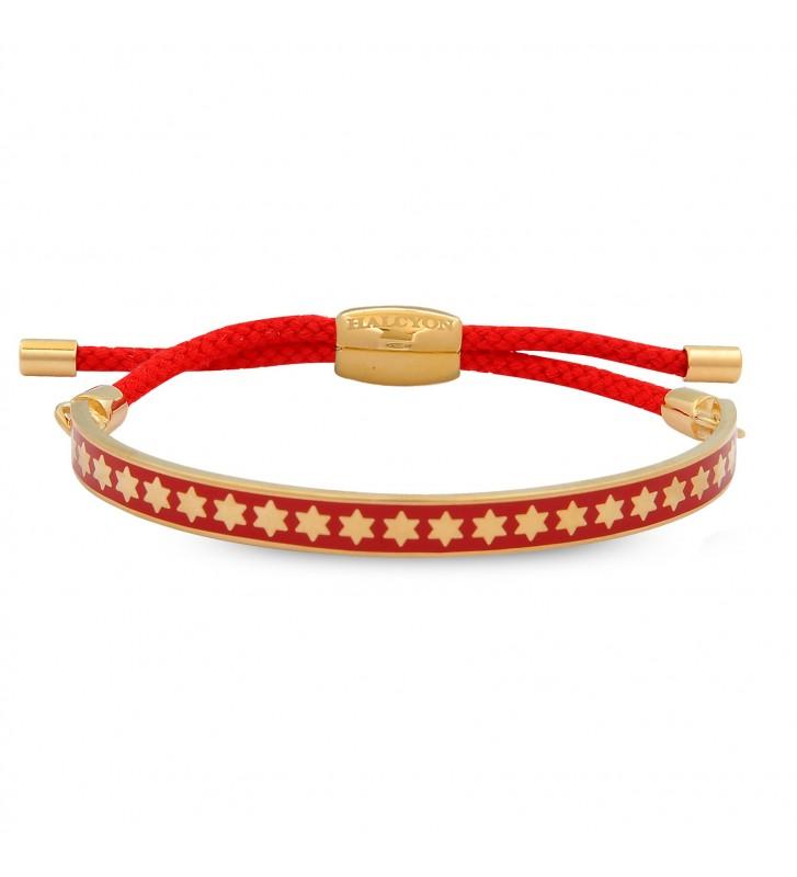 Bratara Star Red & Gold