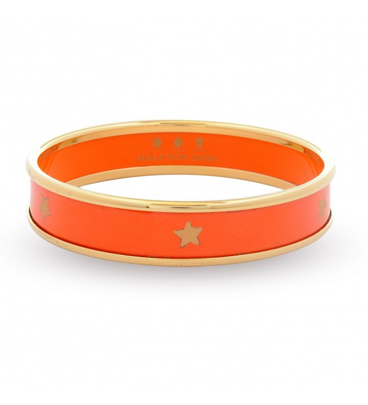 Bratara Star On Orange