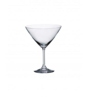 Set 6 Pahare cristal Bohemia, martini, Klara - 280 ml