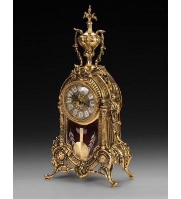 Set ceas si 2 sfesnice  bronz Biblo