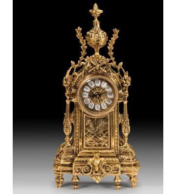 Set Ceas si 2 Sfesnice bronz D.LUIS & D.JUAN