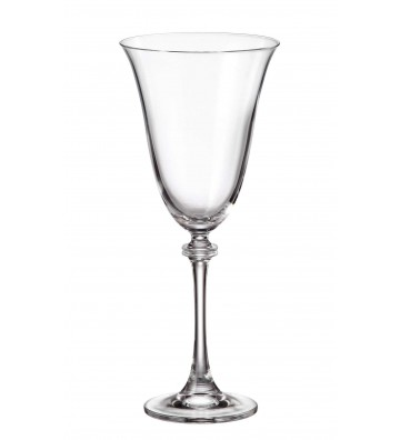 Set 6 Pahare cristal Bohemia, Vin rosu, Alexandra - 350 ml