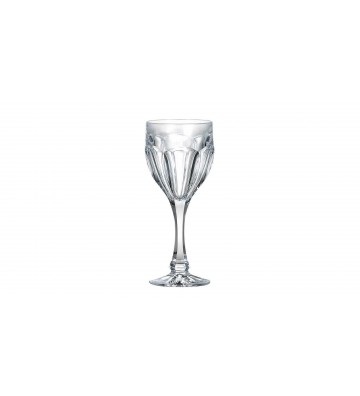 Set 6 Pahare cristal Bohemia, Vin alb, Safari - 190 ml