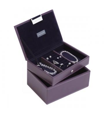 Set 2 mini cutii bijuterii, Violette - Stackers