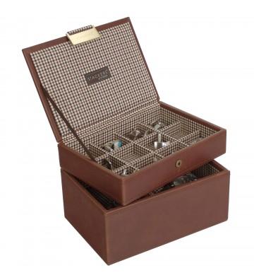 Set 2 cutii ceasuri si butoni caro-Stackers