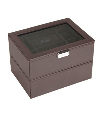 Set 2 cutii 16 ceasuri brown