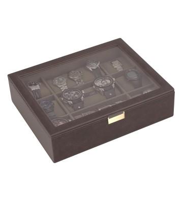 Cutie 15 ceasuri super size brown/khaki