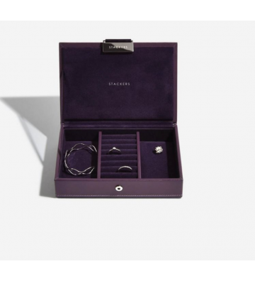 Mini cutie bijuterii purple- Stackers