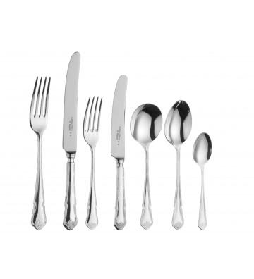 Set 44 tacamuri argintate, Ritz