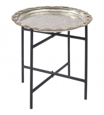 Masă de argint marocană antică