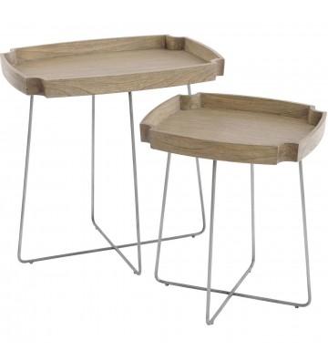 Castille Set de lemn Mindi din două mese