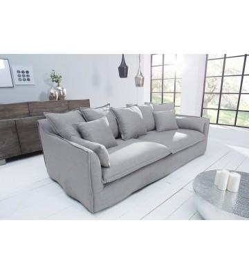 Canapea gri Heaven cu 3 locuri