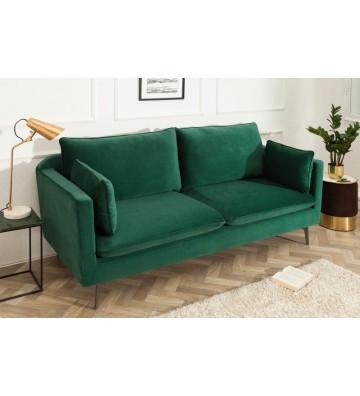 Canapea verde din catifea 210cm