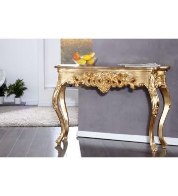 Consola Venice aurita 110cm