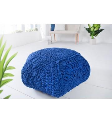 Tamburel comfortabi IV 70cm albastru din tricot