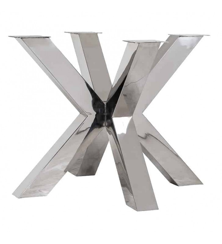 Picior dublu cruce Bodhi Argintiu
